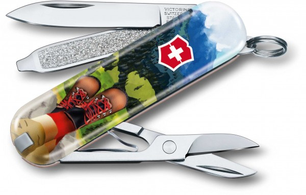 Victorinox Taschenmesser Classic Edition 2020 I Love Hiking