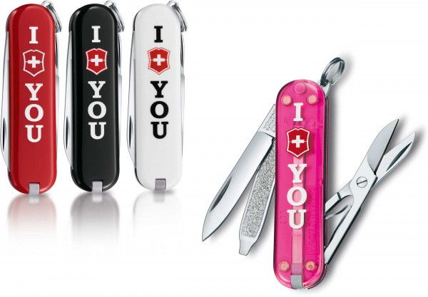 Victorinox Taschenmesser Classic I Love You