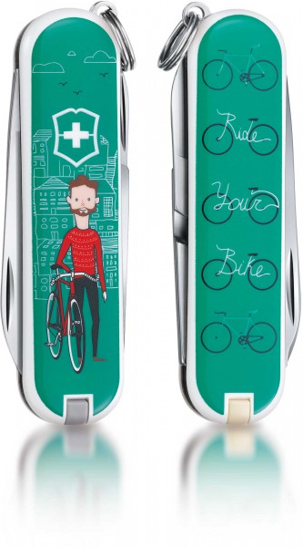 Victorinox Taschenmesser Classic Edition 2015 Ride your bike