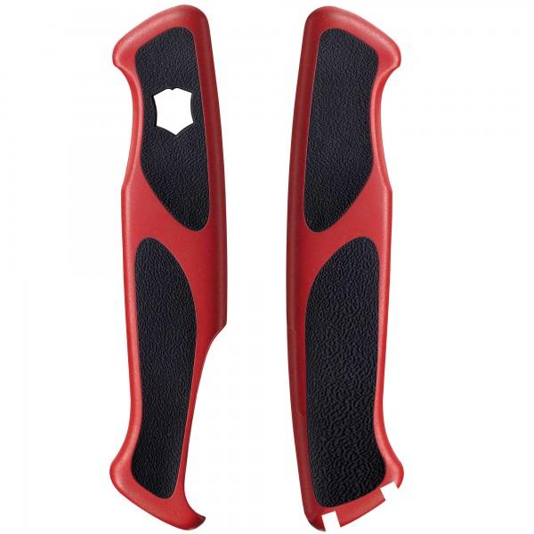 Victorinox Taschenmesser Ersatzschalen 130mm rot/schwarz