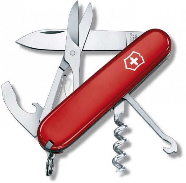 Victorinox Taschenmesser Compact rot