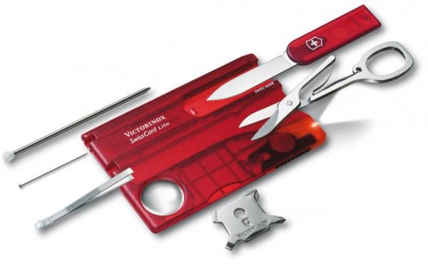 Victorinox SwissCard Lite rot